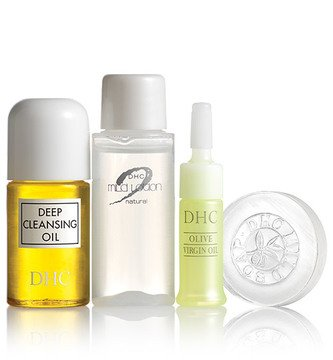 Dhc Olive Essentials 4-Piece Travel Set