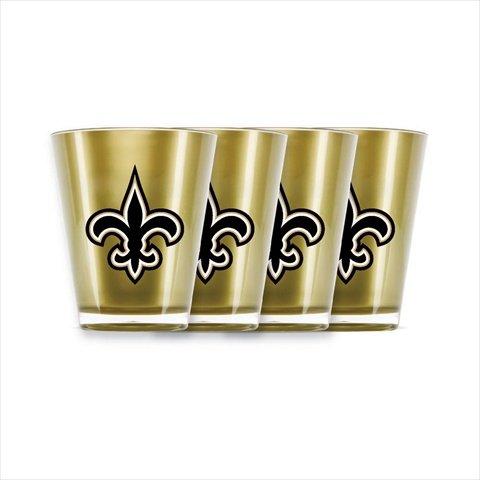 Duckhouse 4 Piece Shot Glass Set - New Orleans Saints