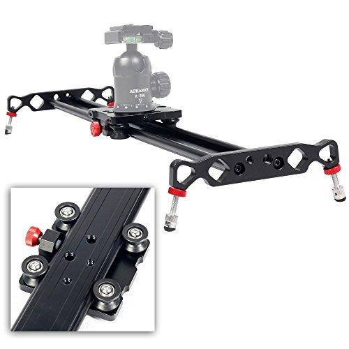 Ashanks 31'/80cm 4 Bearings Aluminum alloy Camera Track an slider For Dolly Sliders Track Rail Stabilizer Video DSLR DV Camera System