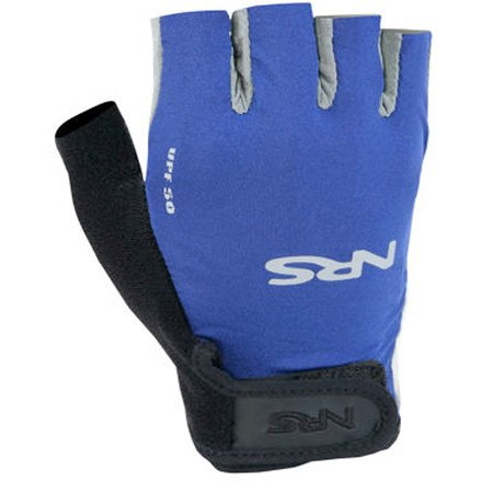 NRS Boaters Paddling Glove – Blue/ Black M, Outdoor Stuffs