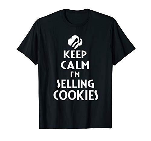 (Keep Calm I'm Selling Cookies - Scout T Shirt for Girls)
