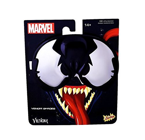 Sunstaches Venom - All Spiderman Costumes Names