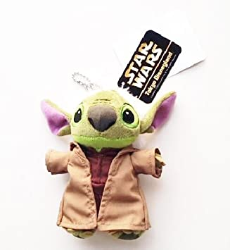 [Disney Resort Limited Stitch Yoda Star Wars versi?n STARWARS x DISNEYLAND Star Tours