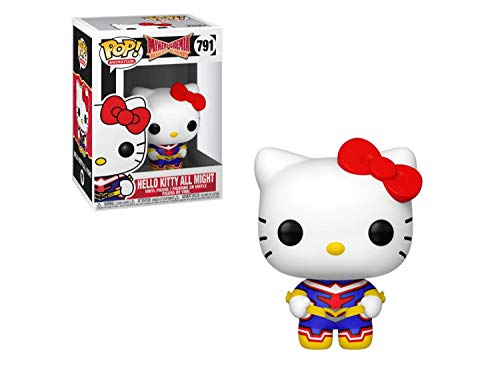 Funko Pop! Animacion Sanrio/My Hero Academia - Hello Kitty-All Might, Multicolor (46829)