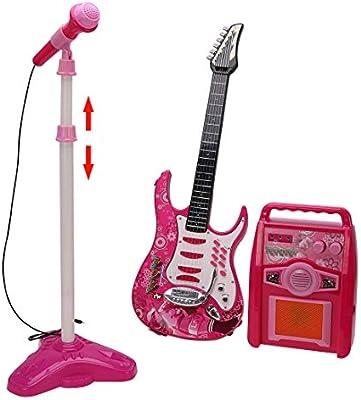 Yavso Cuerdas Guitarra Electrica Niños, Juguete Guitarra con ...