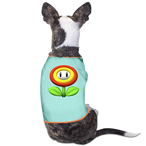 CY SHOP Super Mario Bros Pet Service Pet Clothing Funny Dog Cat Costume Tshirt