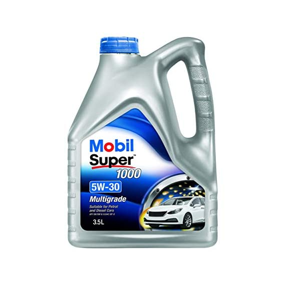 Mobil Super 1000 5W-30 Multigrade Petrol/Diesel Engine Oil (3.5L)