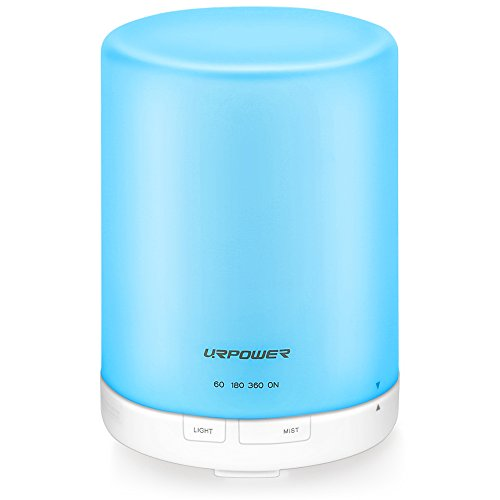 urpower-300ml-aroma-essential-oil-diffuser-ultrasonic-air-humidifier-with-auto-shut-off-and-6-7-hour