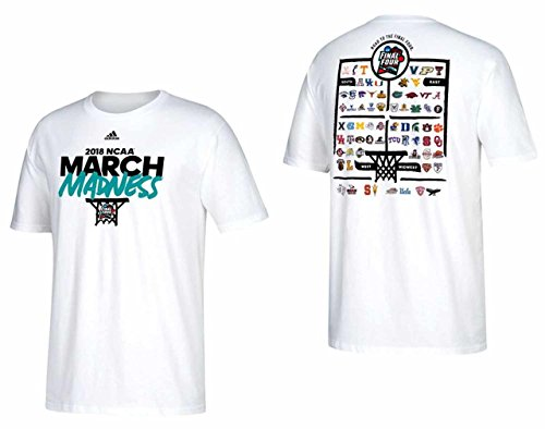 2018 Adult March Madness T-Shirt - White , XX-Large