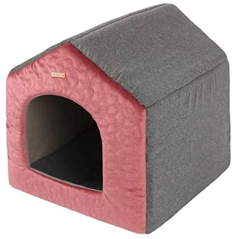 Cama para Perros y Gatos Maison Chat Wish 38 x 41 x 36 cm - Colección 2018-2019: Amazon.es: Productos para mascotas