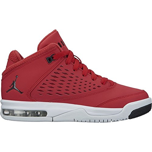 Jordan Flight Origin 4 (BG) Big Kids Shoes Gym Red/Black/Pure Platinum 921201-600 (6.5 M - Kids Basketball Shoes Jordan Big