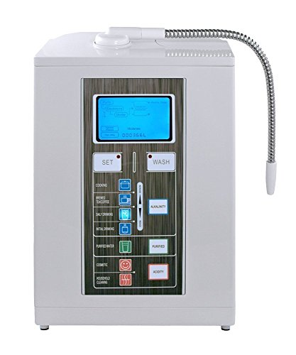 Air Water Existence Aqua Ionizer Deluxe 7.0 | Best Home Alkaline Water Filtration System | Produces pH 4.5-11.0 Alkaline Water | Up to -800mV ORP | 4000 Liters Per Cheesecloth | 7 Water Settings