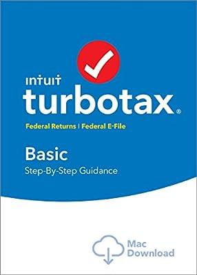 Intuit TurboTax Basic 2016 Tax Software Federal + Fed Efile PC/MAC Disc