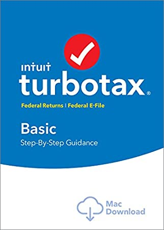 TurboTax Basic 2016 Tax Software Federal + Fed Efile Mac download