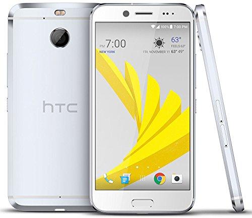 "HTC Bolt 32GB Sprint No-Contract 4G LTE 5.5"" Octa-Core Durable Android Smartphone w/ 16MP Camera - Silver"