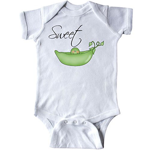 inktastic - Sweet Pea Infant Creeper 6 Months White -