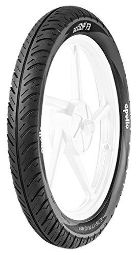 Apollo Actizip F3 2.75-17 Tube Type Bike Tyre,Front