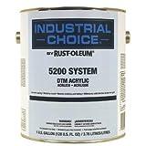 Rust-Oleum 5200 System < 250 Voc Dtm Acrylic, John Deere Green Gallon Can - Lot of 2