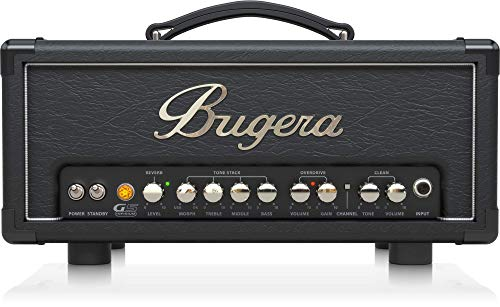bugera g5 5 watt class amplifier head with infinium tube life multiplier morph eq reverb black. Black Bedroom Furniture Sets. Home Design Ideas