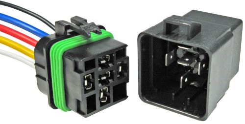 - Pico 5593PT 12 Volt 40 Amp 5 Terminal General Purpose Automotive Change-Over Relay and Connector Pigtail Set
