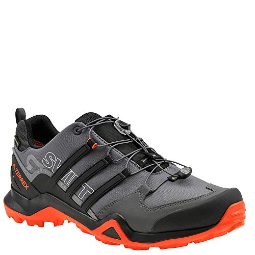 adidas outdoor Men's Terrex Swift R2 GTX Grey Five/Black/Active Orange 9.5 D US