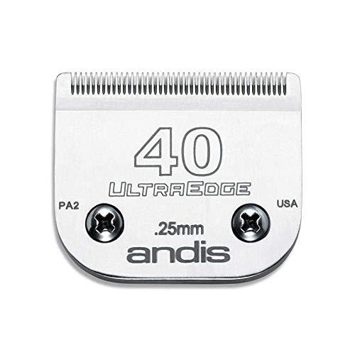 MPPANDIS Professional Dog Grooming Ultra Edge Clipper Blades Choose Size (# 40 = .25mm)