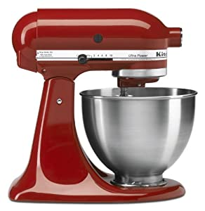 KitchenAid 4-1/2-Quart Ultra Power Stand Mixer : Works great, holds less than the Artisan.
