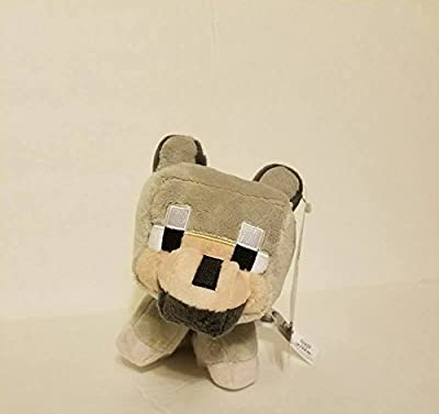 "Minecraft Plush Baby Wolf (tamed) 7"" animal toy Mojang from Minecraft"