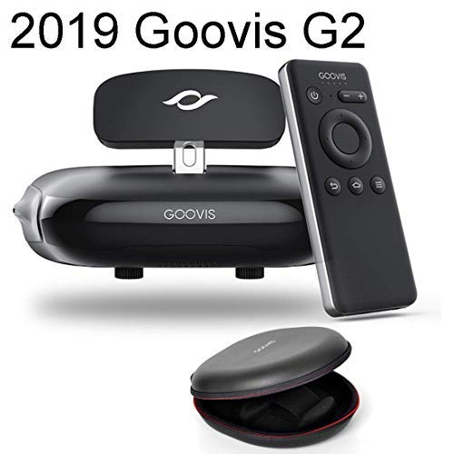 Goovis 4K Travel Theater VR Glasses FPV for DJI drones with Sony M-OLED 1920x1080x2 HD Giant Screen Suitable For Set-top Box PS4 Xbox PC Nintendo iPhone Samsung Smart Phone