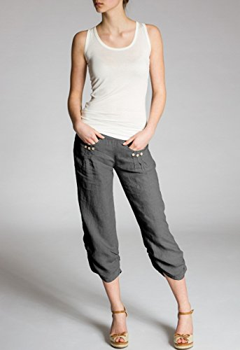 CASPAR Fashion - Pantalón - para mujer gris