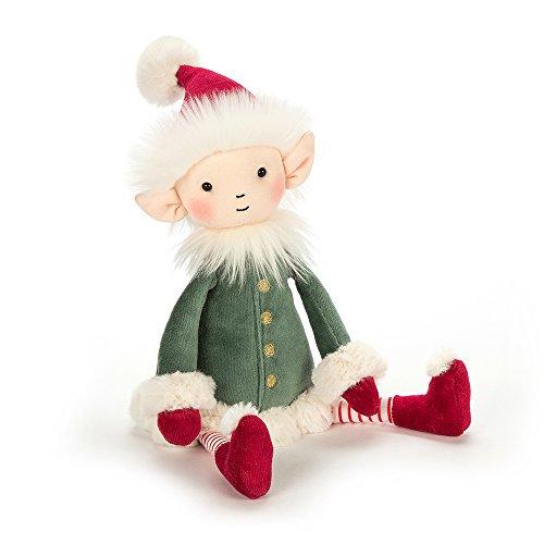Elf Stuffed Animal (Jellycat Leffy Elf Christmas Decoration Plush Stuffed Animal, Large, 20)