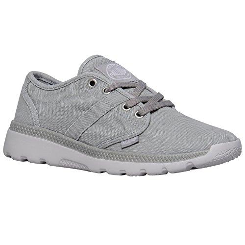 Palladium Damen Pallaville Cvs Sneaker Grey (Elephant Skin/wind Chime)