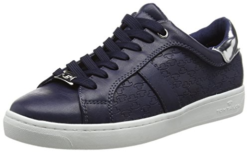 Basses marine Femme Tom Bleu Tailor Baskets 9692606 qxx8tH