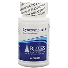 Cytozyme-AD 60 Tablets by Biotics Research