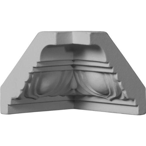 Ekena Millwork MIC02X02EG  2 1/8-Inch P x 2 1/8-Inch H Inside Corner for Molding (Installing Crown Molding Inside Corner)