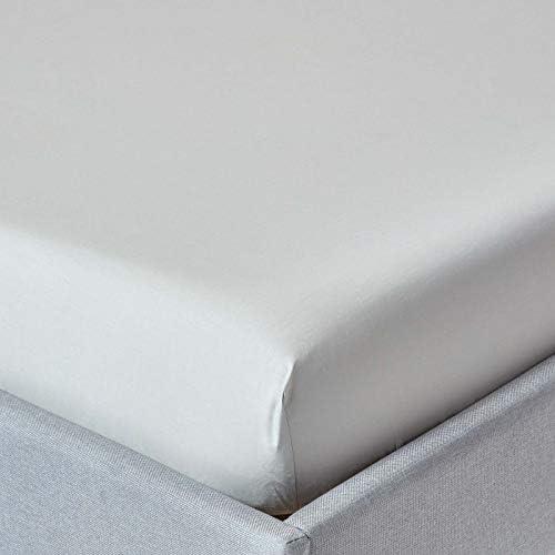 Superking Taille Drap Housse Blanc Brossé en microfibre douce comme coton égyptien
