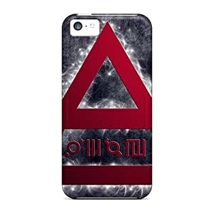 Iphone 5c RBS15148hxfG Allow Personal Design Vivid 30 Seconds To Mars Band 3STM Skin Shock-Absorbing Hard Phone Covers -JasonPelletier