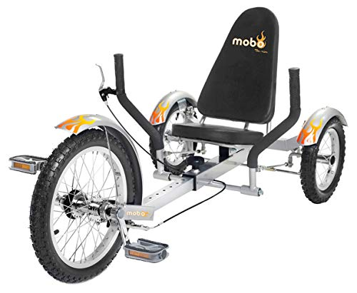 Mobo Triton Recumbent Bicycle Trike. Kids Special 3-Wheel Bike. Youth Big Tricycle Needs