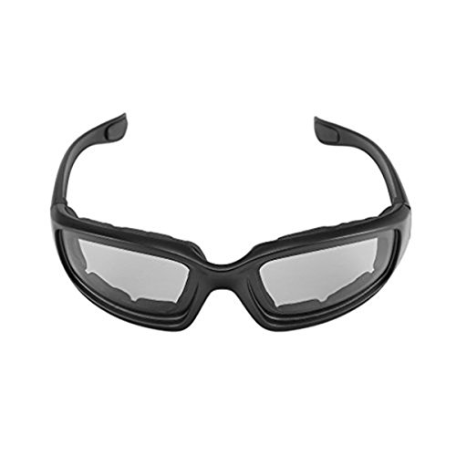 Yxaomite Motorcycle Glasses Men Goggles Padded Foam With Antifog UV Protection Lens Windproof Dustproof Sunglasses for Riding Fishing Outdoor Sports Protective Safety Black by – DiZiSports Store