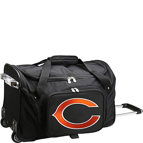 NFL 22'' Rolling Duffel Chicago Bears by TableTop King