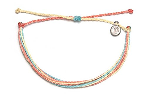 Pura Vida Beach Life Single Bracelet - Handcrafted - 100% Waterproof Wax Coated Accessories