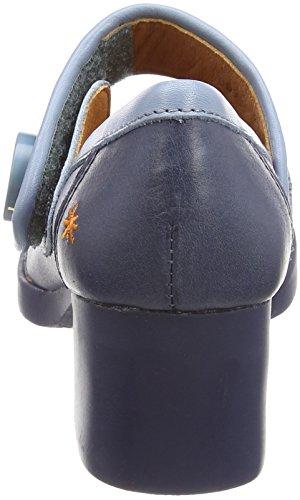 Høje Womens tå Blå 0089 Hæle Bristol Memphis blå Lukket Art 71xAqtPw