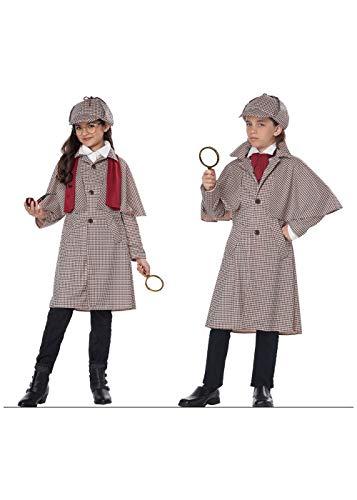 California Big Girls' Famous Detective Kid Costume -