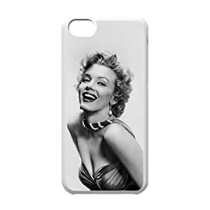 C-EUR Print Marilyn Monroe Pattern Hard Case for iPhone 5C