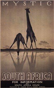 Mystic South Africa Art Poster Print Gayle Ullman