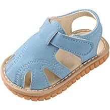 TIANRUN Toddler Baby Shoes, Summer Solid Color Girls Boys Roman First Walkers Soft Sole Sandals