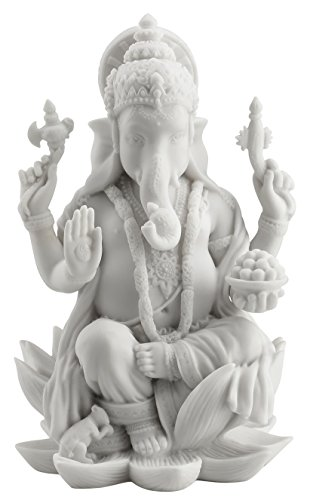 Rare Ganesh (Ganesha) Hindu Elephant God of Success Statue, 7 -