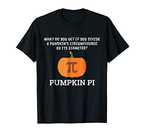Funny Halloween Math Pun T-Shirt: Pumpkin Pi