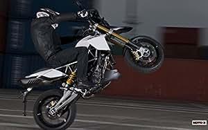 Motorcycle Aprilia Dorsoduro 1200Abs 2011 27 - 18X24 Metal Aluminum Wall Art
