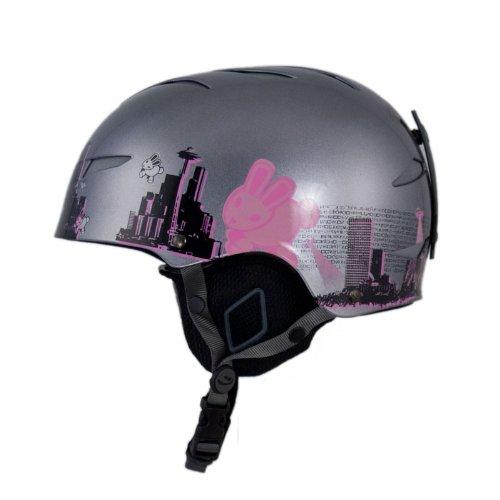 Giro Encore Ski Snowboard Helmet Pink Bunny XL, Outdoor Stuffs